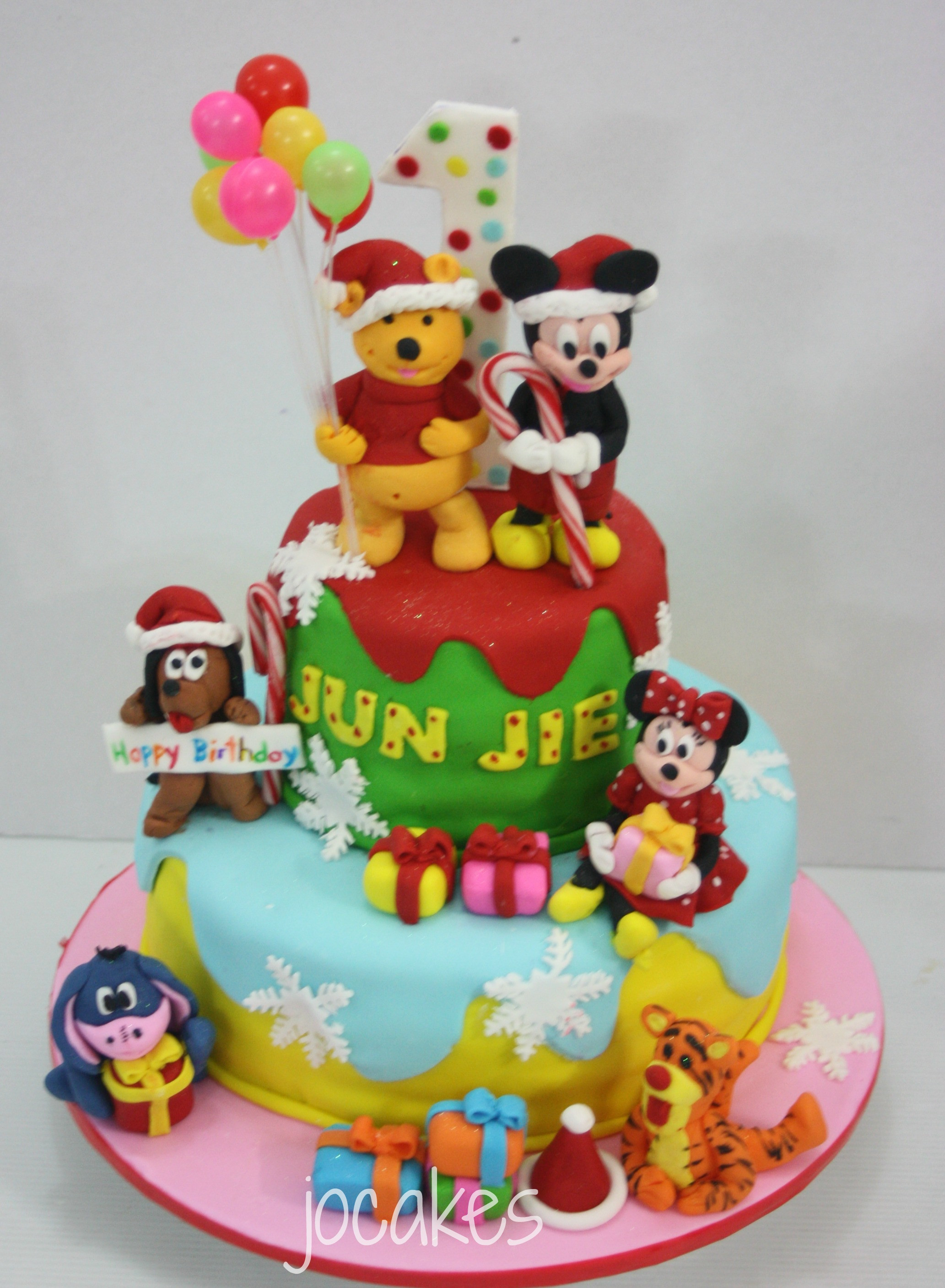 Best ideas about Winnie The Pooh Birthday Cake . Save or Pin Winnie the Pooh cake Now.