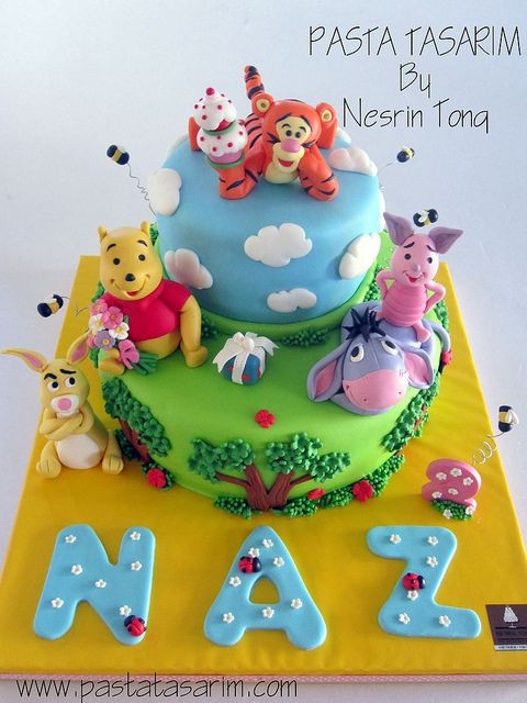 Best ideas about Winnie The Pooh Birthday Cake . Save or Pin 198 best Winnie the Pooh Cakes images on Pinterest Now.