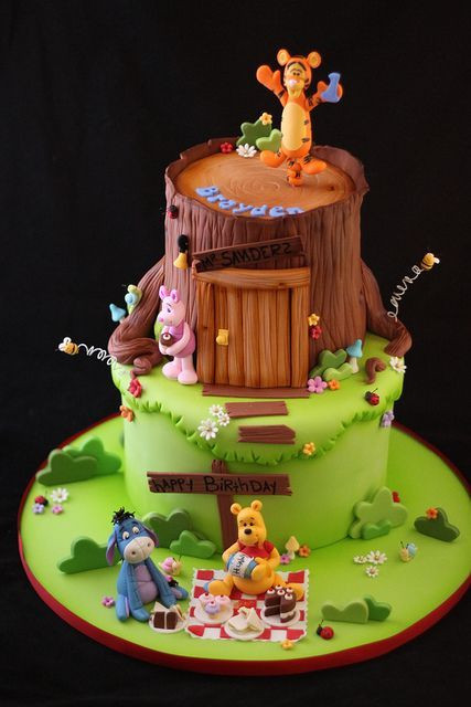 Best ideas about Winnie The Pooh Birthday Cake . Save or Pin Winnie the pooh cake Winnie the pooh and Friends cake on Now.