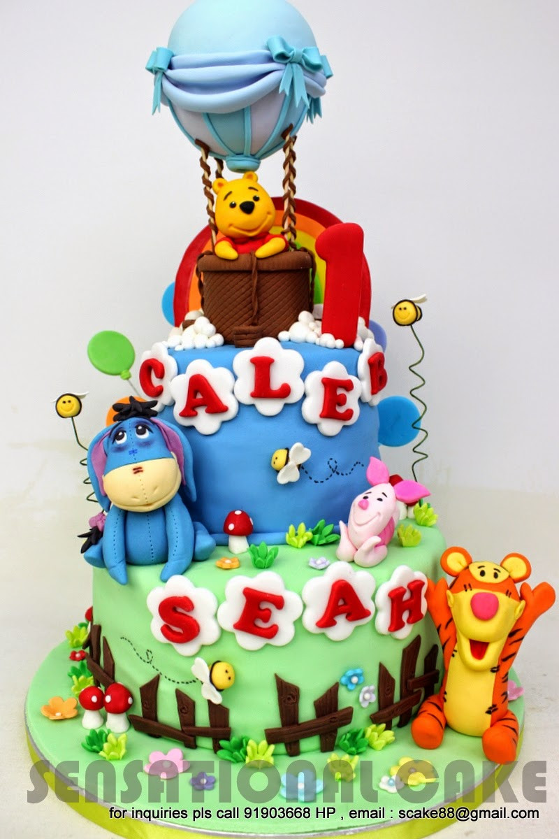 Best ideas about Winnie The Pooh Birthday Cake . Save or Pin WINNIE THE POOH THEME – Sensational Cakes Now.