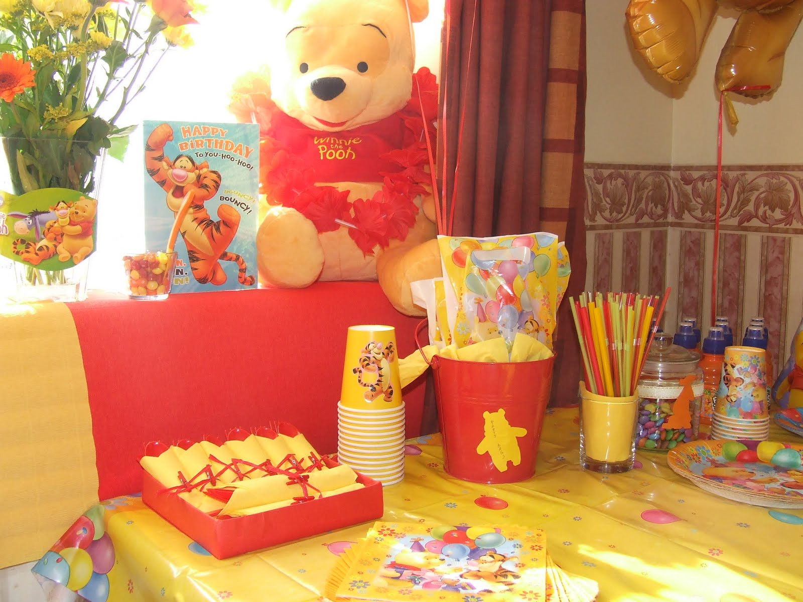 Best ideas about Winnie The Pooh Birthday Decorations . Save or Pin Filip Maxim album My Winnie the Pooh Birthday Party Now.