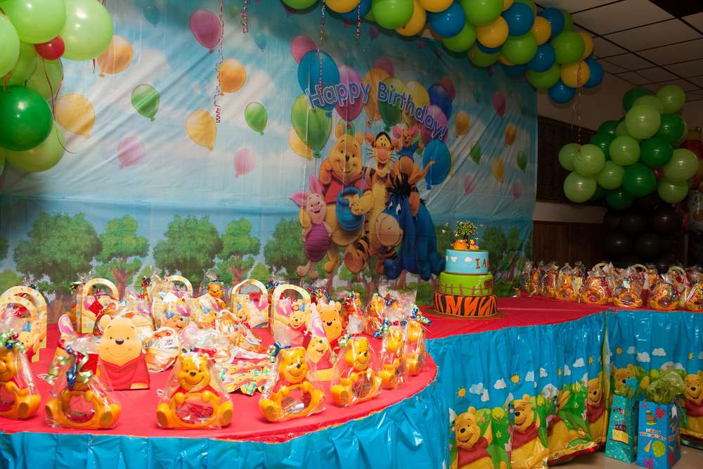 Best ideas about Winnie The Pooh Birthday Decorations . Save or Pin Winnie the pooh Birthday Party Ideas Now.