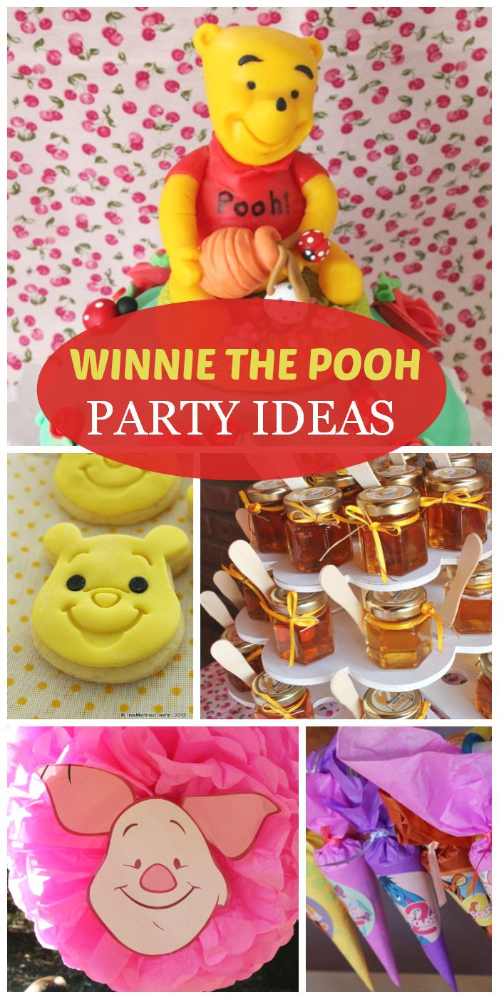 "Best ideas about Winnie The Pooh Birthday Decorations . Save or Pin Winnie the pooh Birthday ""Winnie Pooh Faustina Now."