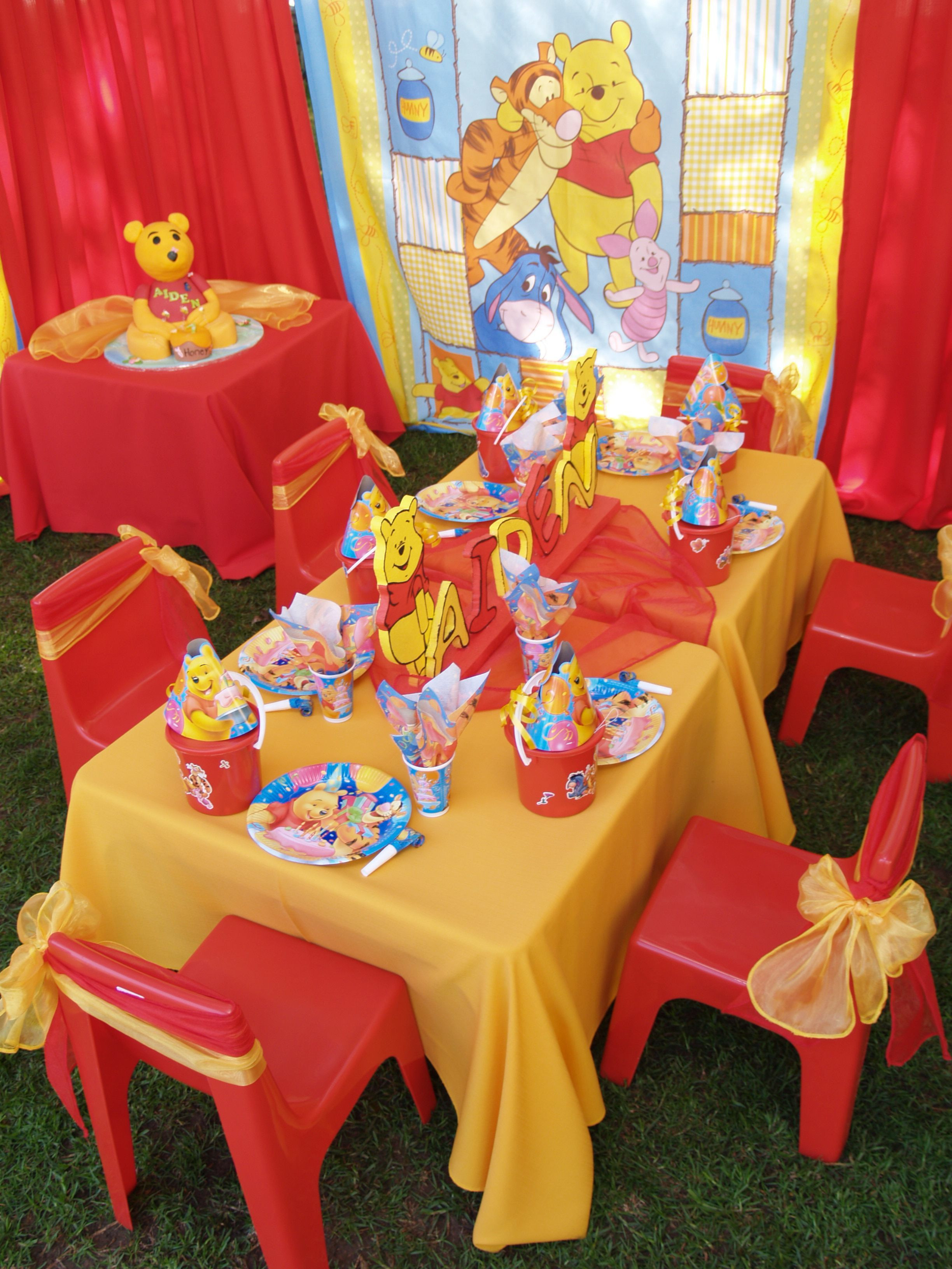 Best ideas about Winnie The Pooh Birthday Decorations . Save or Pin Party and Birthday Themes – Pokkenoster Party Planners and Now.