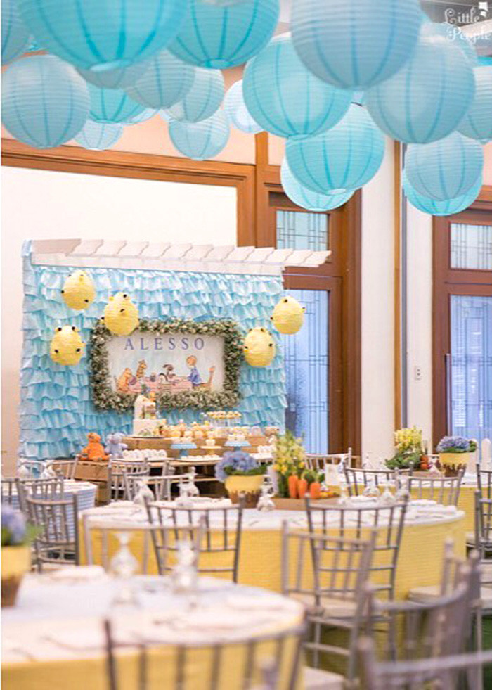 Best ideas about Winnie The Pooh Birthday Decorations . Save or Pin Kara s Party Ideas Winnie the Pooh Birthday Party Now.