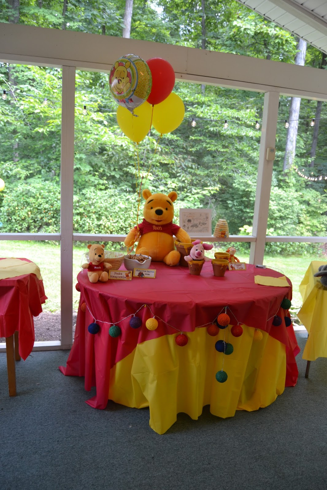 Best ideas about Winnie The Pooh Birthday Decorations . Save or Pin Something Beautiful Scarlett s Winnie the Pooh 2nd Now.
