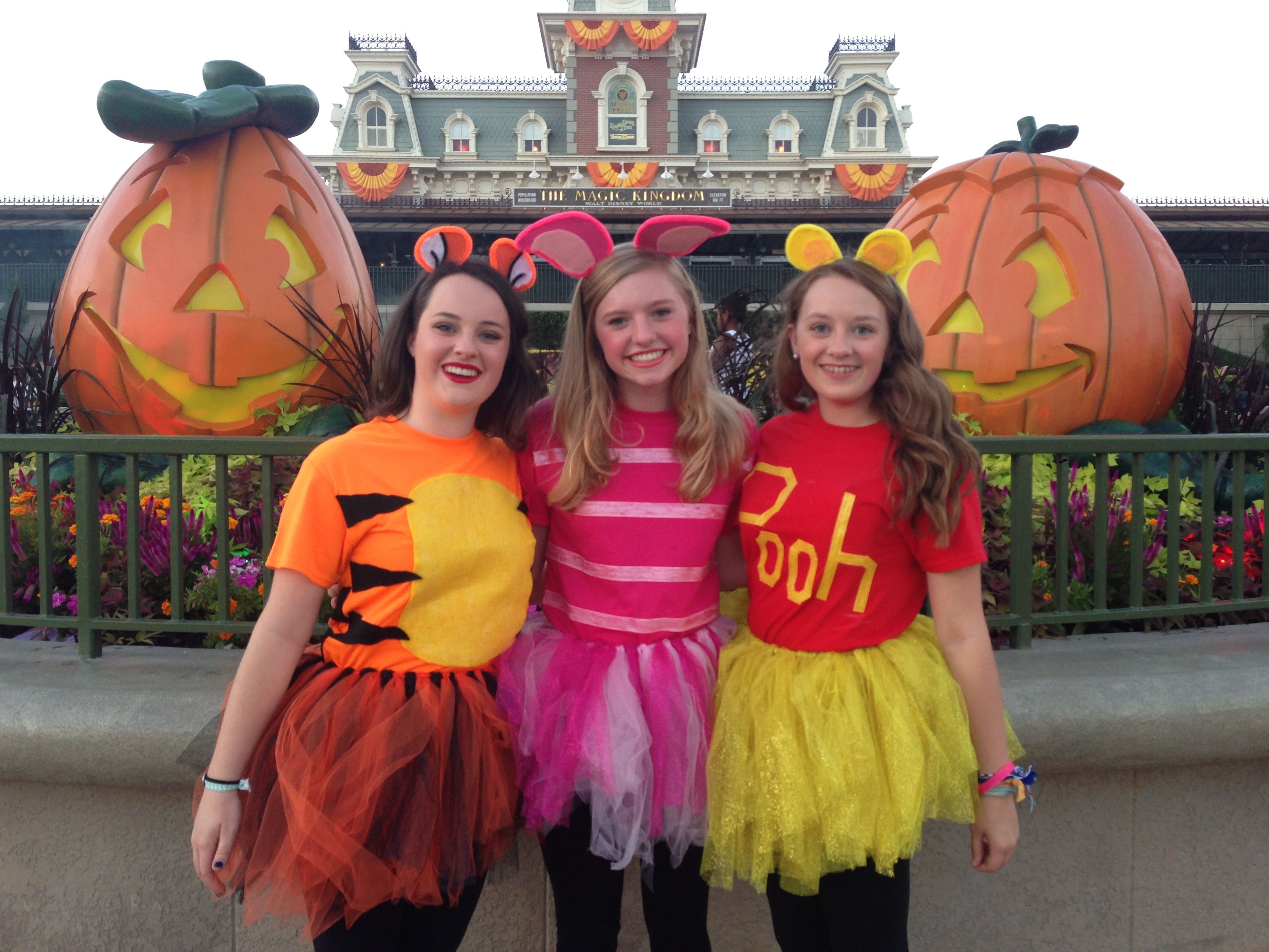Best ideas about Winnie The Pooh Costume DIY . Save or Pin Pooh Piglet and Tigger Costumes Pinterest Now.