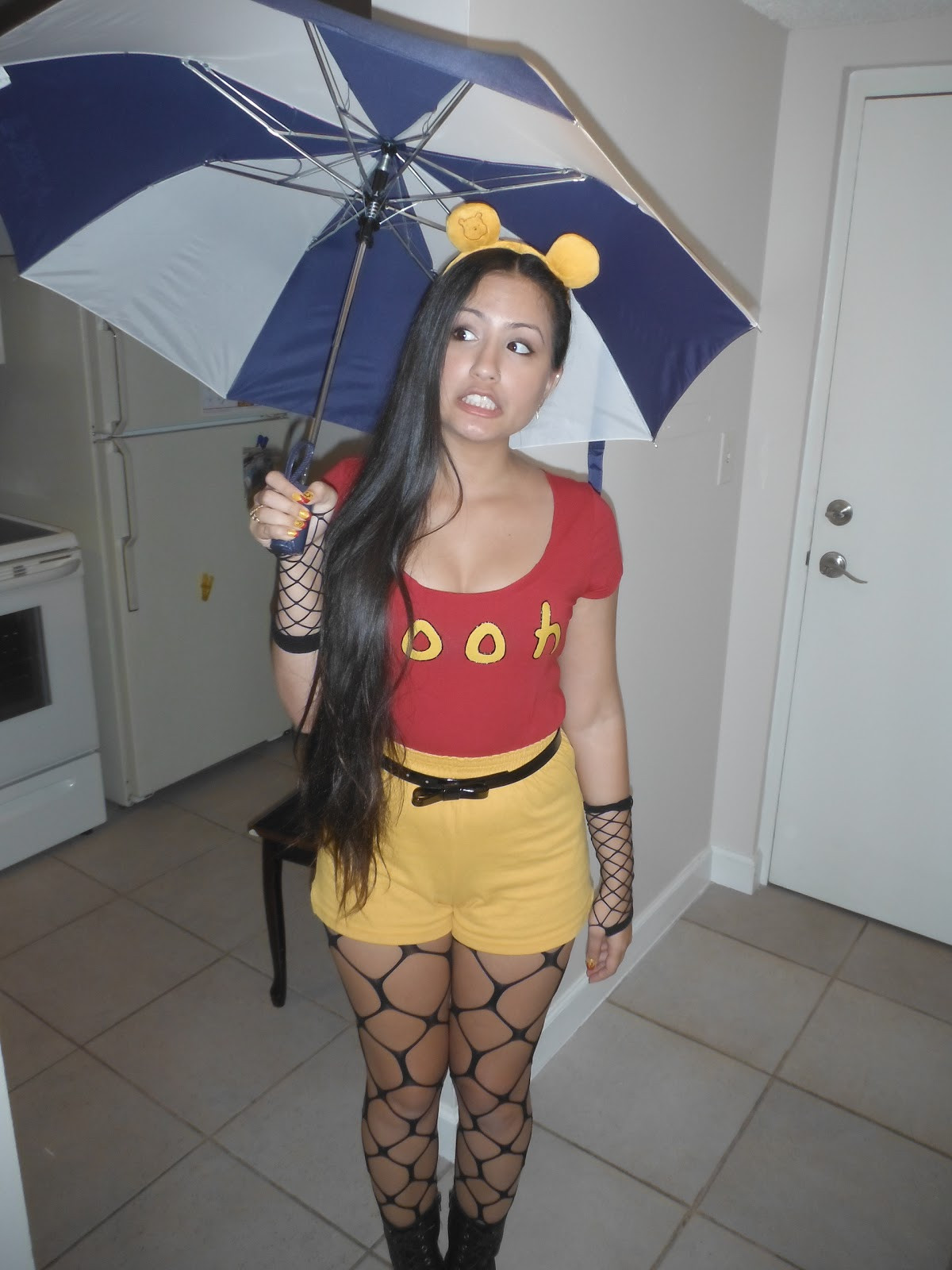 Best ideas about Winnie The Pooh Costume DIY . Save or Pin Dizzida DIY Adult Female Winnie The Pooh Costume Now.
