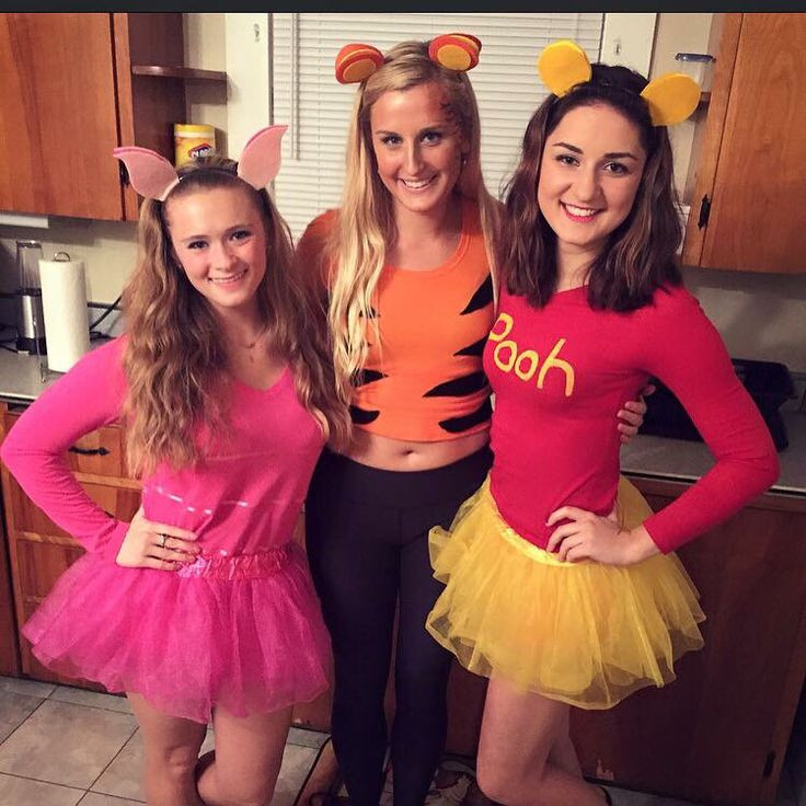 Best ideas about Winnie The Pooh Costume DIY . Save or Pin Halloween Winnie the Pooh College Tigger Piglet Now.