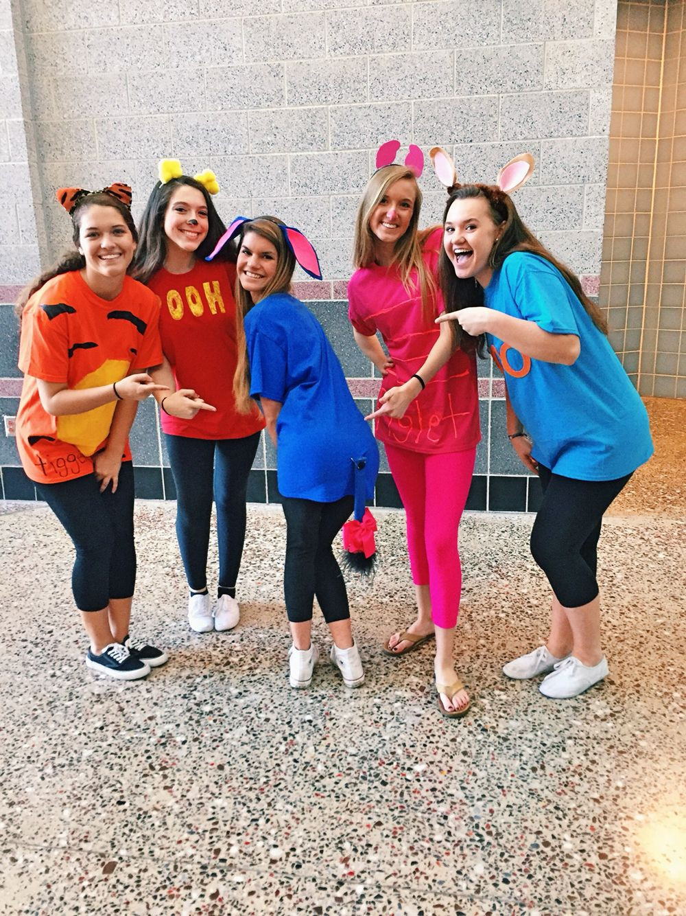 Best ideas about Winnie The Pooh Costume DIY . Save or Pin Winnie the Pooh character costumes Spirit week Now.