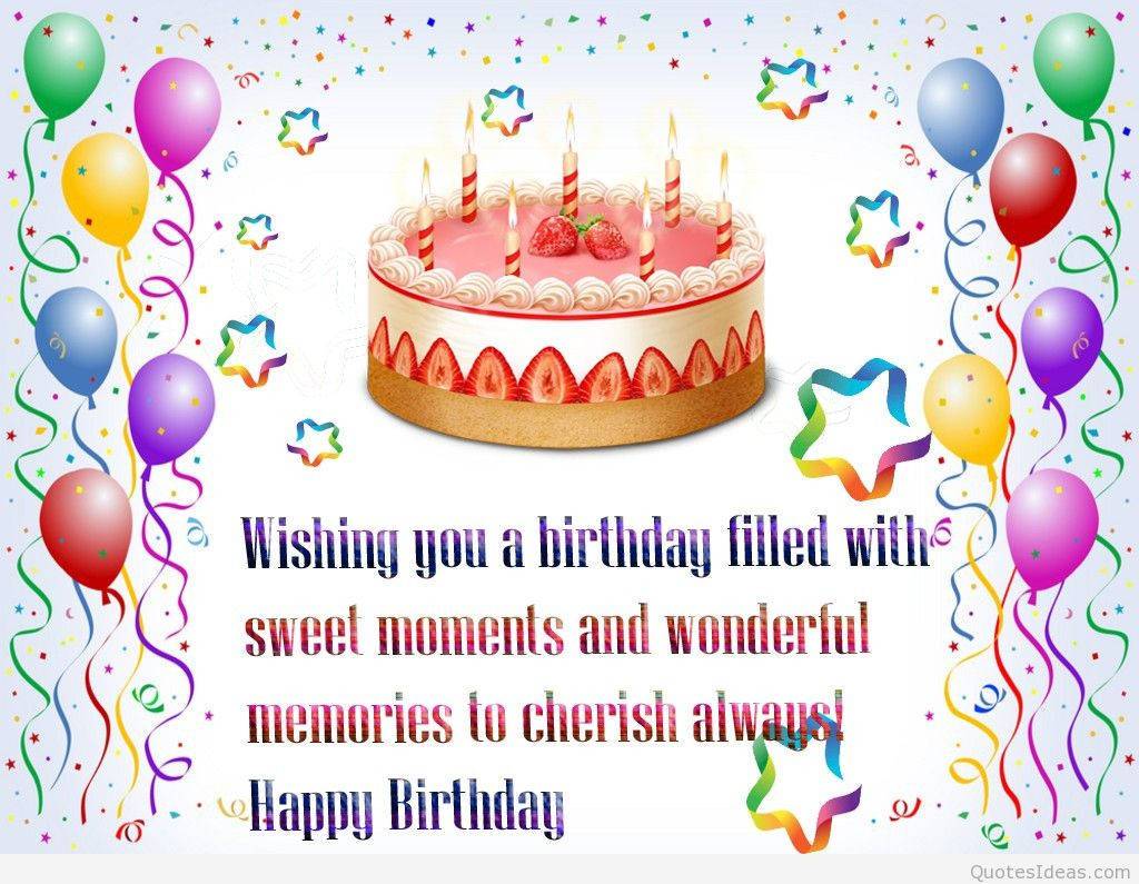 Best ideas about Wish You Happy Birthday . Save or Pin Happy anniversary birthdays wallpapers cakes and wishes Now.