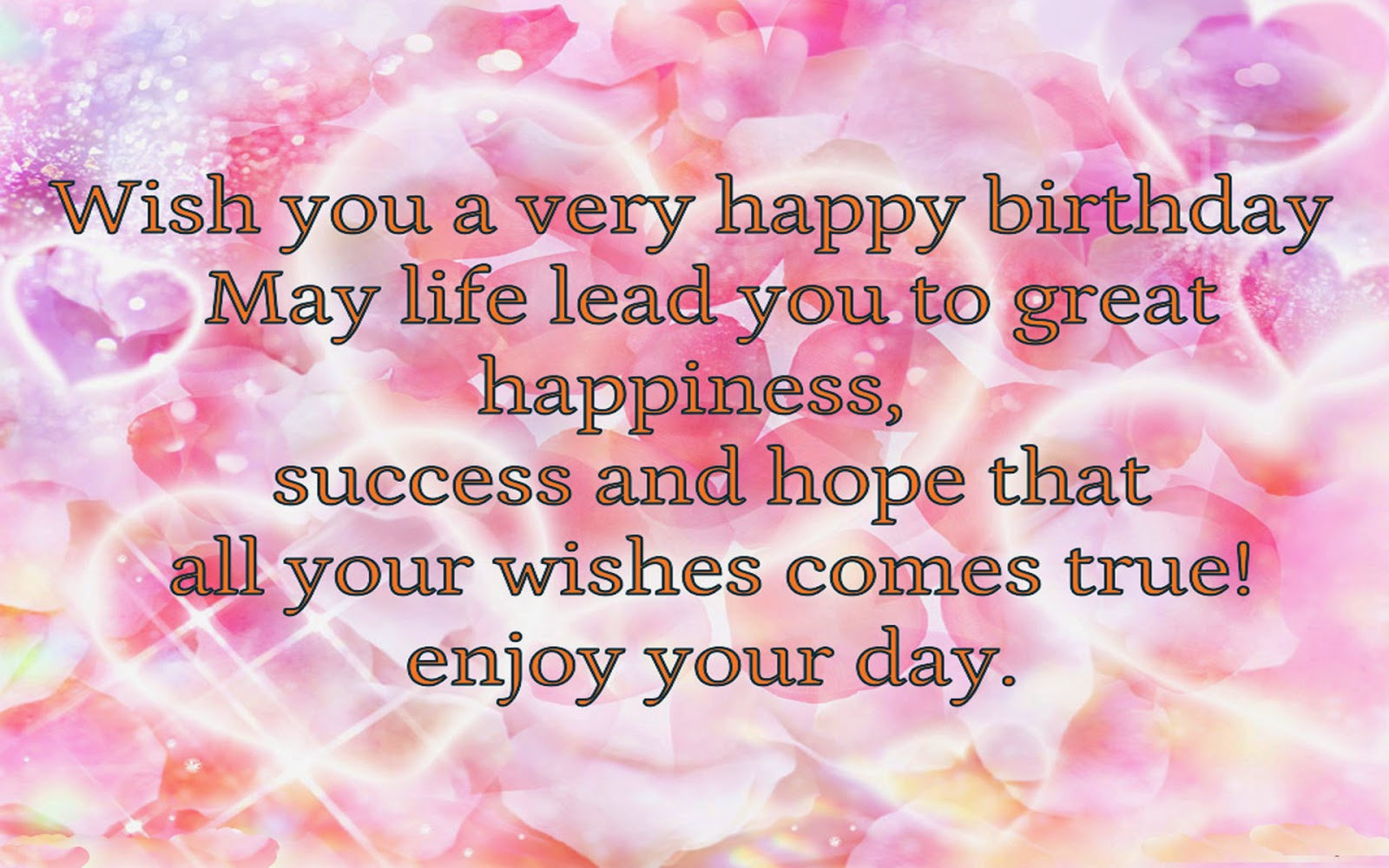 Best ideas about Wish You Happy Birthday . Save or Pin Birthday Wishes For Lover With Wallpapers Poetry Likers Now.