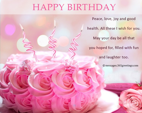 Best ideas about Wish You Happy Birthday . Save or Pin Happy Birthday Wishes and Messages 365greetings Now.