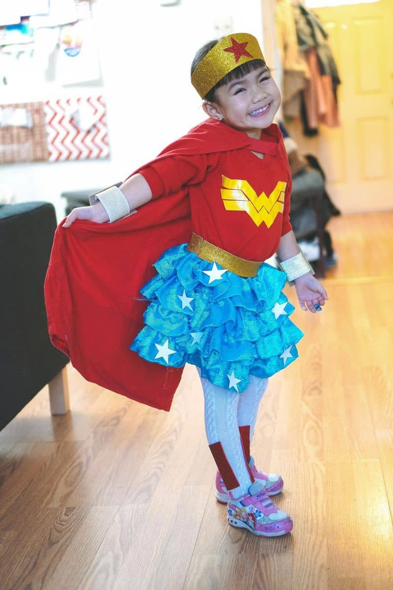 Best ideas about Woman Costume DIY . Save or Pin How To Make A Toddler Wonder Woman Costume Like A Pro Now.