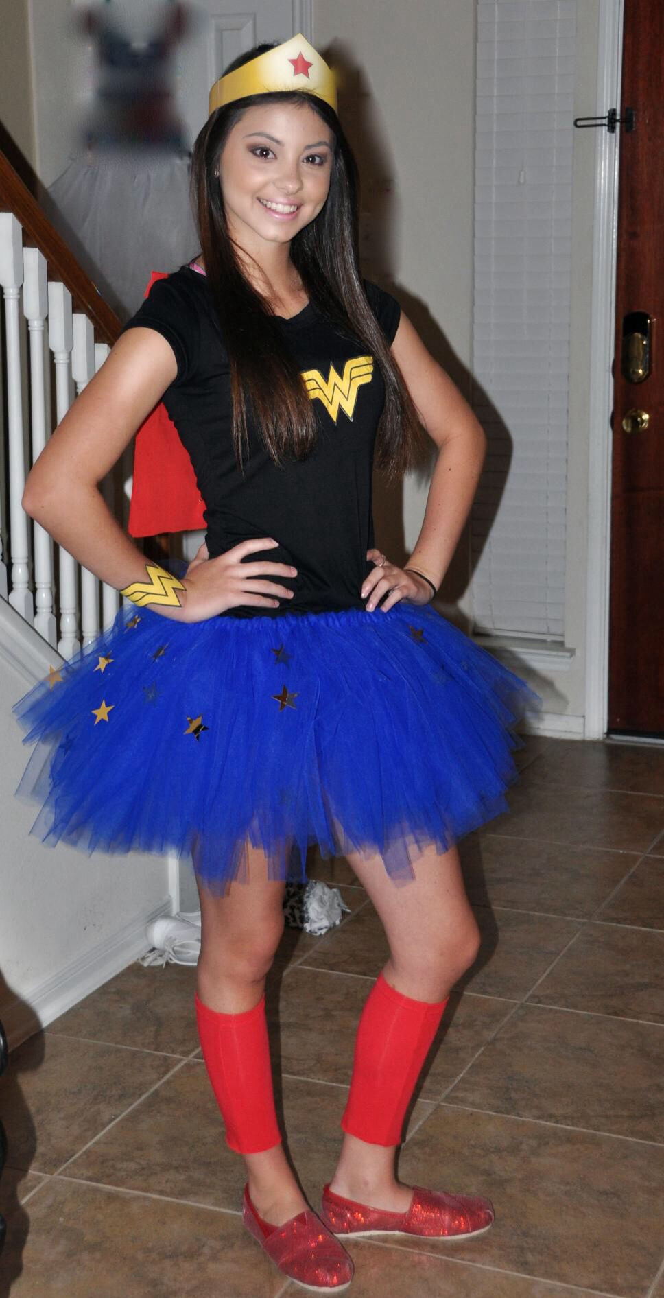 Best ideas about Woman Costume DIY . Save or Pin DIY super hero costume Now.