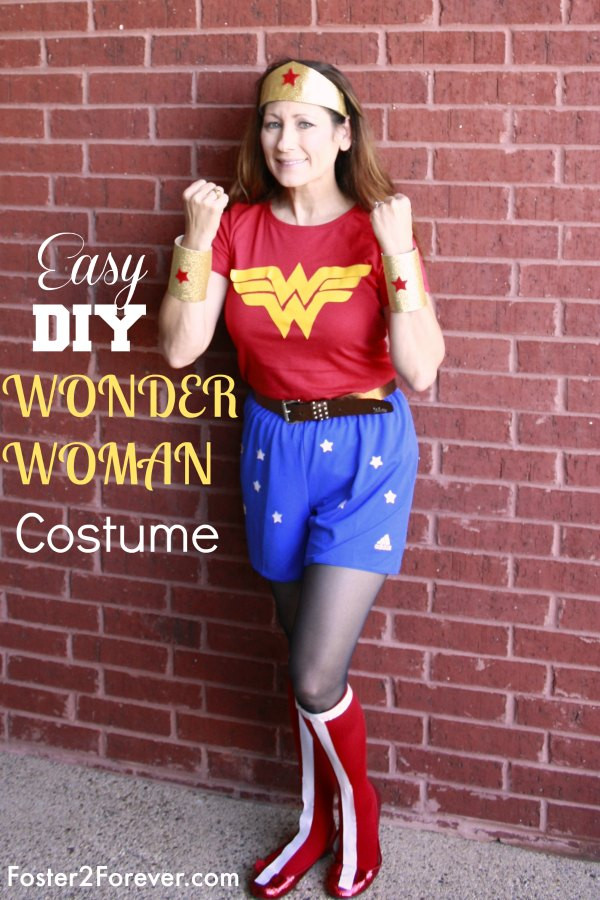 Best ideas about Woman Costume DIY . Save or Pin How to Make a Wonder Woman Costume 88 Other DIY Costumes Now.