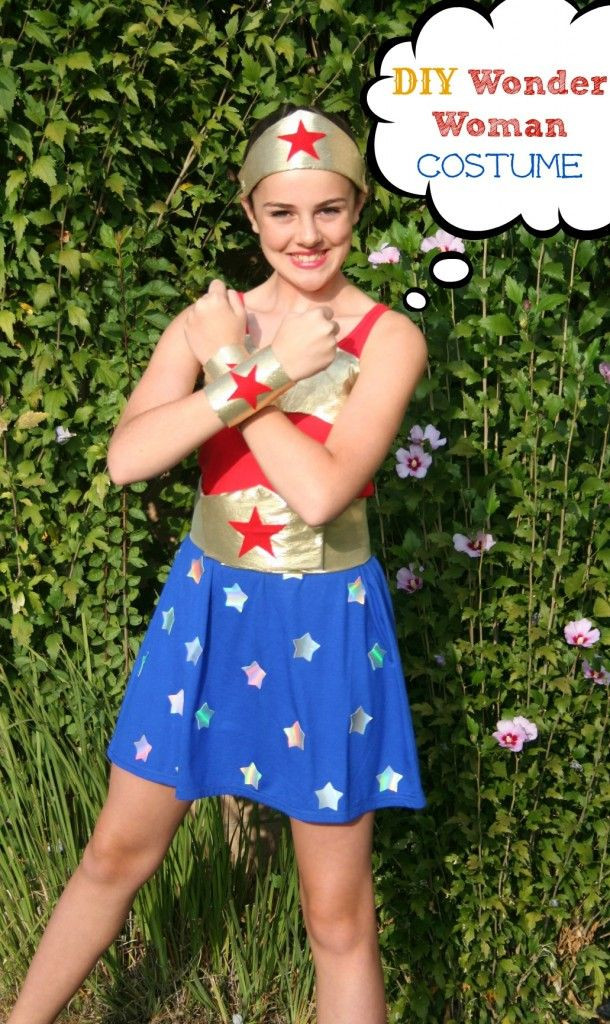 Best ideas about Woman Costume DIY . Save or Pin NO Sew Wonder Woman Costume DIY Now.