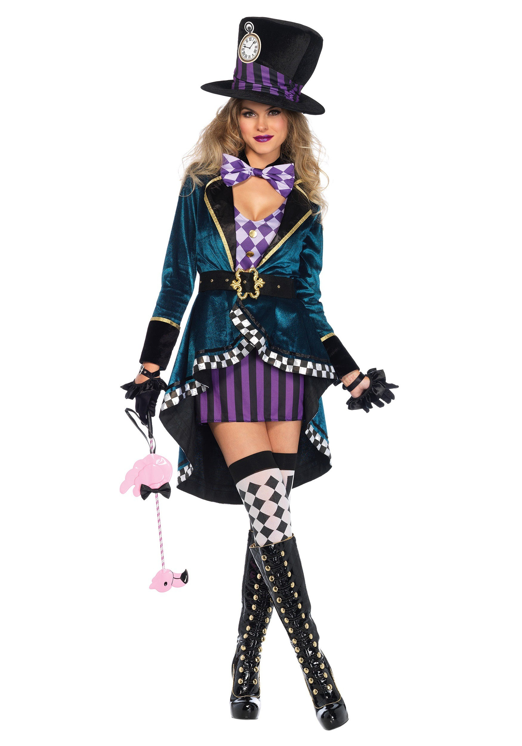 Best ideas about Women DIY Costumes . Save or Pin Women s Delightful Hatter Costume Now.