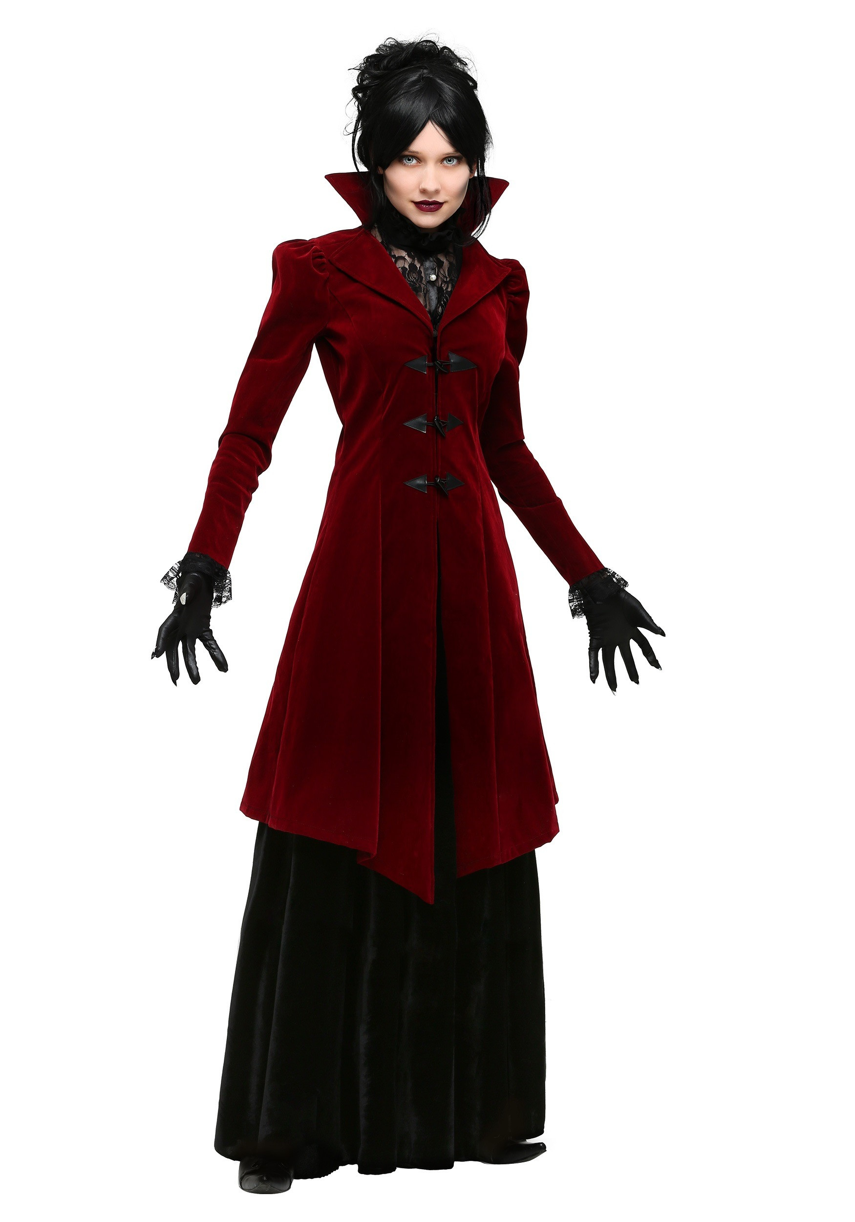 Best ideas about Women DIY Costumes . Save or Pin Women s Plus Size Delightfully Dreadful Vampiress Costume Now.