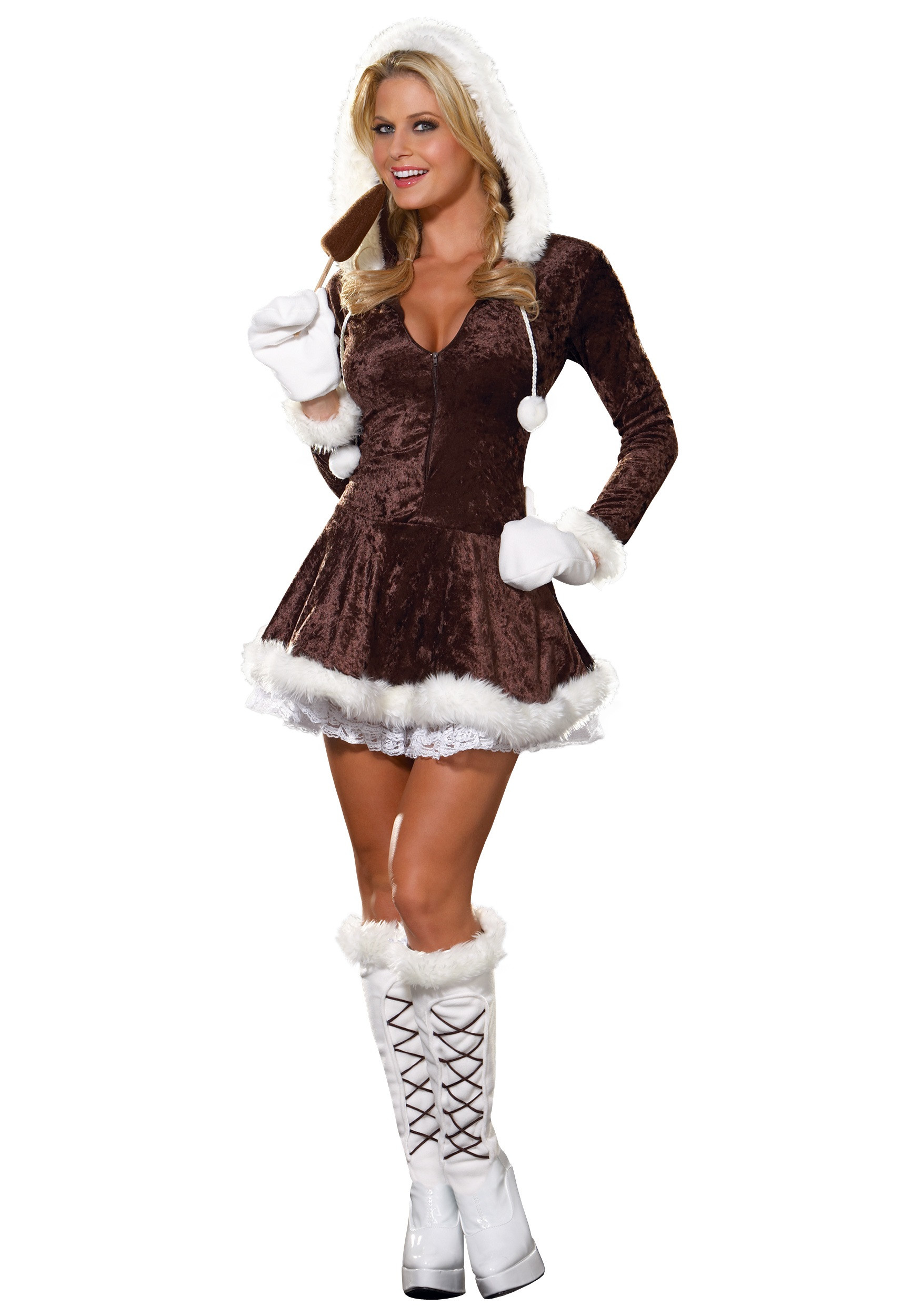 Best ideas about Women DIY Costumes . Save or Pin Women s Eskimo Costume Now.