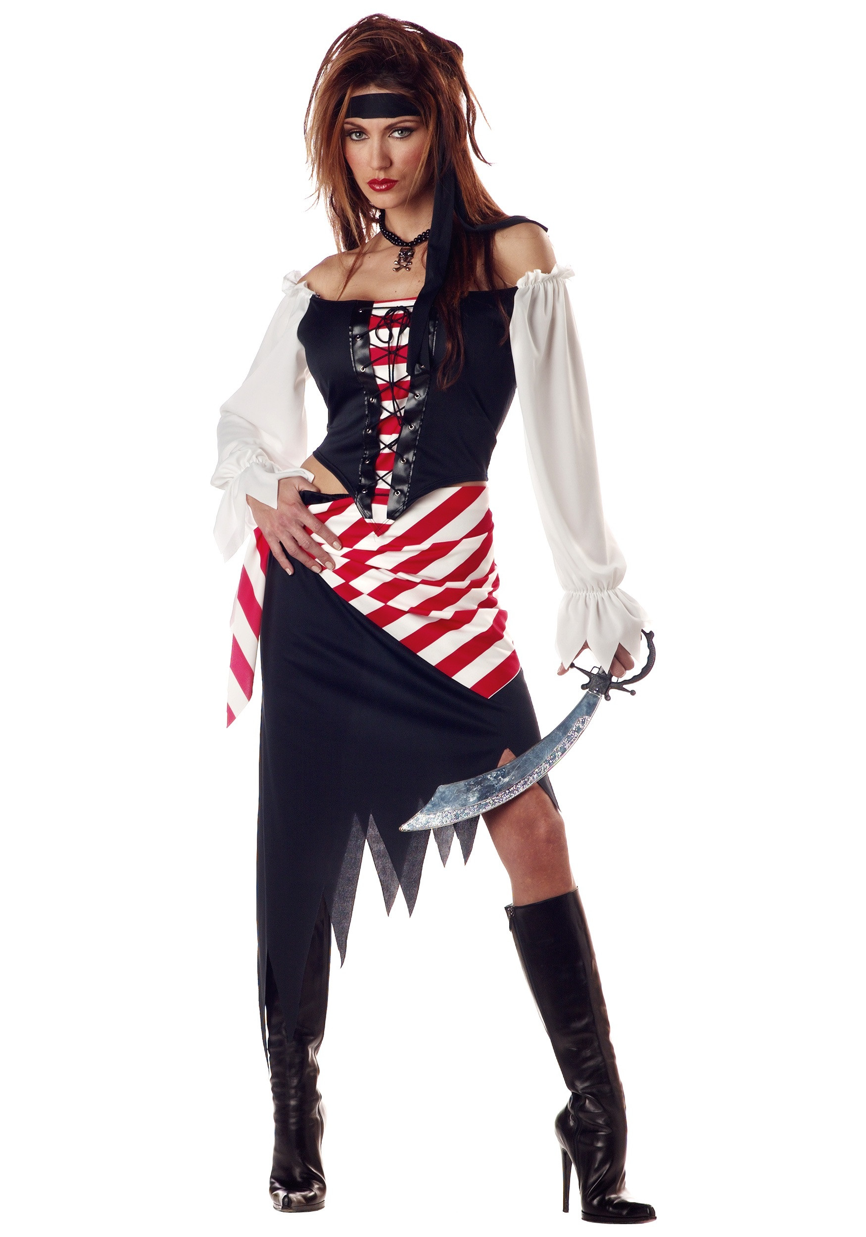 Best ideas about Women DIY Costumes . Save or Pin Adult Ruby the Pirate Beauty Costume La s Pirate Costumes Now.