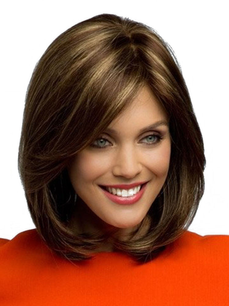 Best ideas about Women'S Shoulder Length Hairstyles . Save or Pin New Fashion Women s Short Brown Blonde Natural Straight Now.