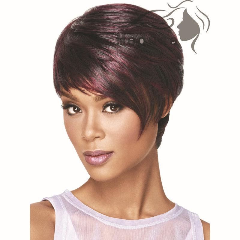 Best ideas about Women'S Undercut Hairstyles . Save or Pin Synthetic Hair Women S Wigs Short Bob Wig Fake Hair Now.