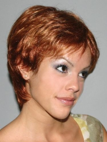 Best ideas about Women'S Undercut Hairstyles . Save or Pin Women s Wig Short Wavy Layered Pixie w Tapered Back Boy Now.