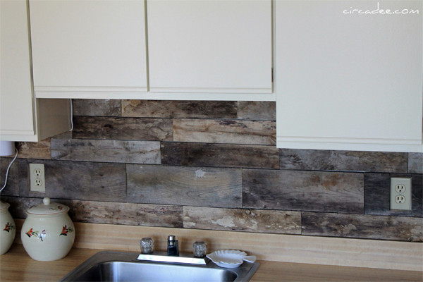 Best ideas about Wood Backsplash DIY . Save or Pin 20 Inspiring Kitchen Backsplash Ideas Now.