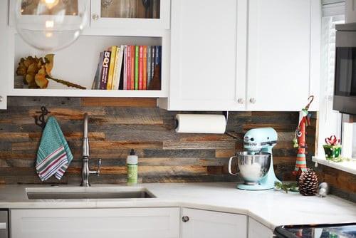 Best ideas about Wood Backsplash DIY . Save or Pin Eco friendly kitchen backsplash options that won t cost a Now.