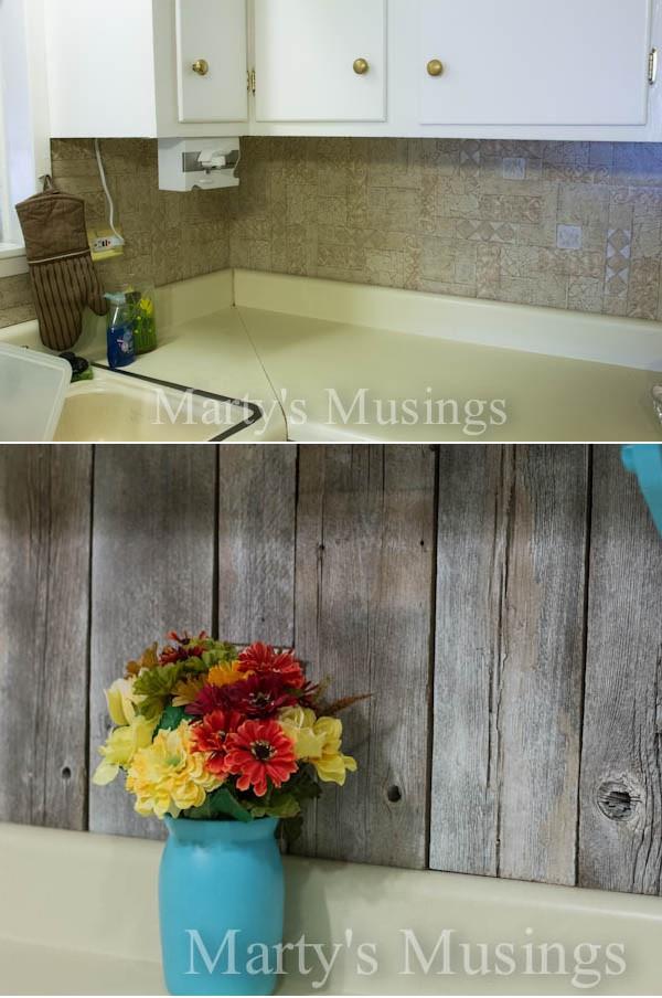 Best ideas about Wood Backsplash DIY . Save or Pin Top 20 DIY Kitchen Backsplash Ideas Now.