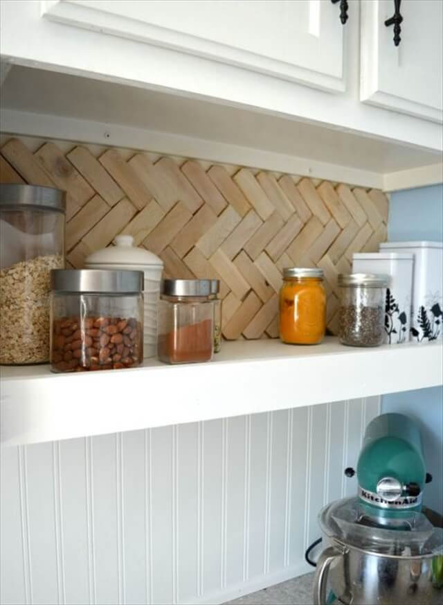 Best ideas about Wood Backsplash DIY . Save or Pin 12 Cool DIY Wood Project Ideas Now.