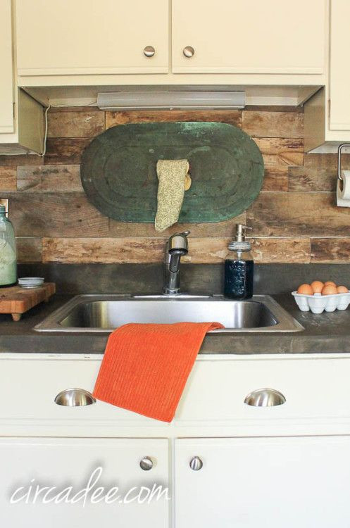 Best ideas about Wood Backsplash DIY . Save or Pin 35 best images about Backsplash on Pinterest Now.