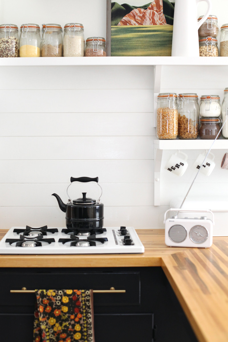 Best ideas about Wood Backsplash DIY . Save or Pin How to Make an Inexpensive Plank Backsplash A Beautiful Mess Now.