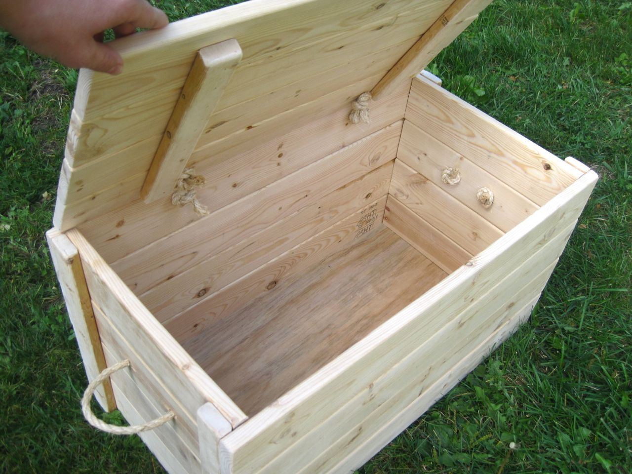 Best ideas about Wood Boxes DIY . Save or Pin inexpensive chest storage box Now.