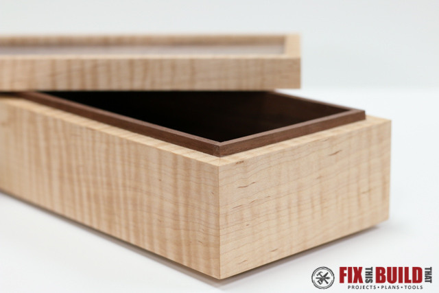 Best ideas about Wood Boxes DIY . Save or Pin How to Make a Simple Wooden Jewelry Box FREE Plans Now.