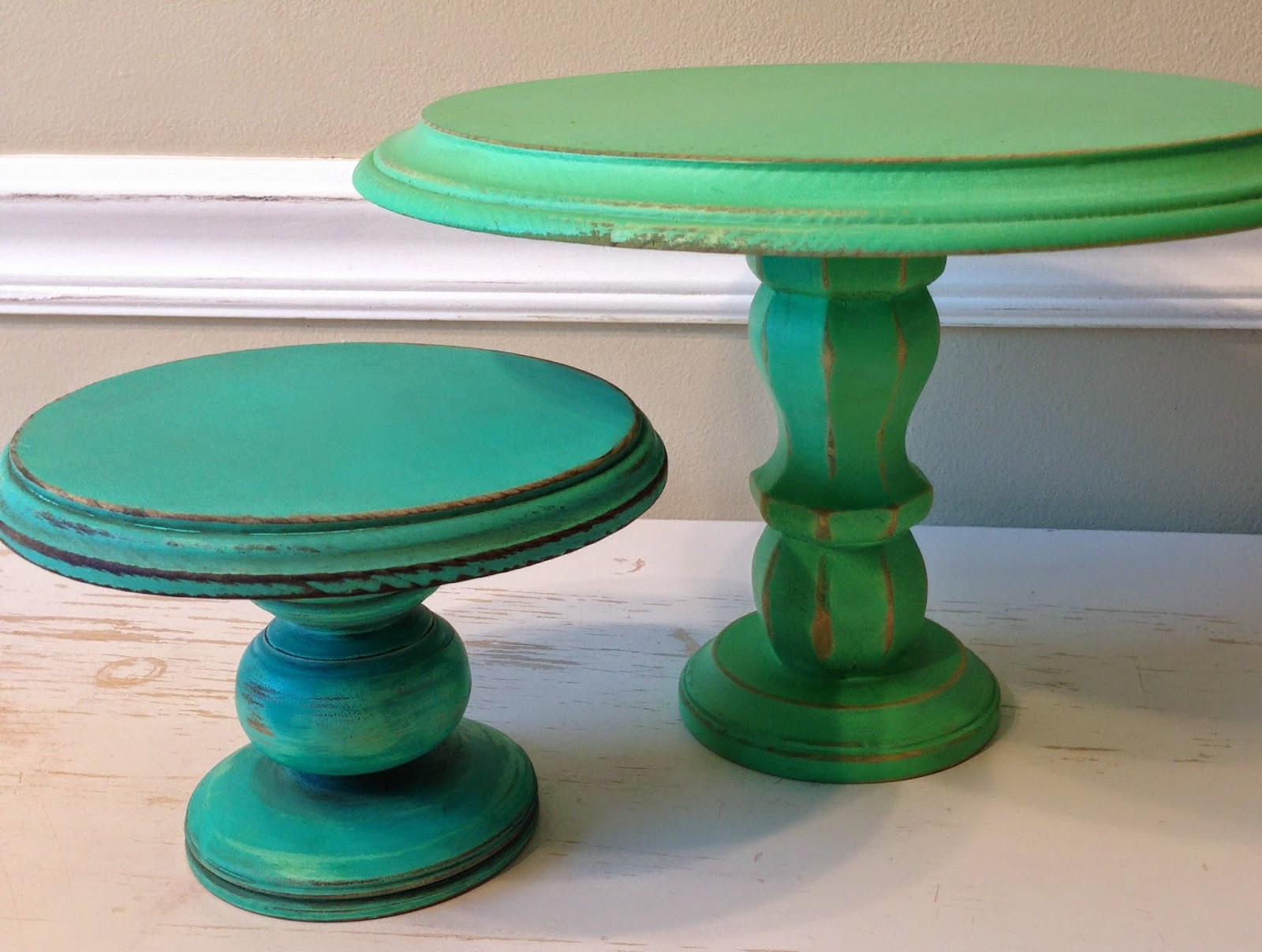 Best ideas about Wood Cake Stand DIY . Save or Pin BumbleDo DIY Wooden Cake Stands Now.