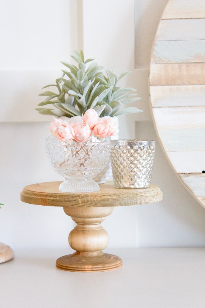 Best ideas about Wood Cake Stand DIY . Save or Pin Farmhouse Home How to Make your own Simple DIY Wood Cake Now.