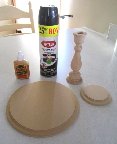Best ideas about Wood Cake Stand DIY . Save or Pin DIY Candlestick Cake Stand Full Tutorial Now.