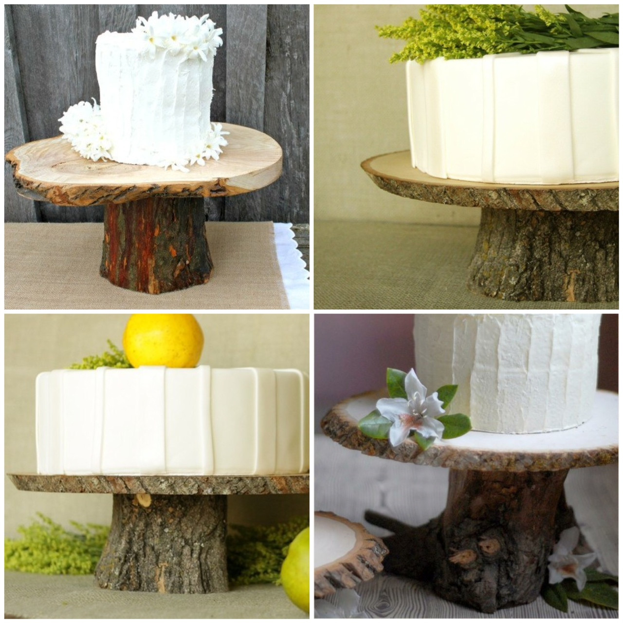 Best ideas about Wood Cake Stand DIY . Save or Pin Rustic Wood Cake Stands a DIY Now.