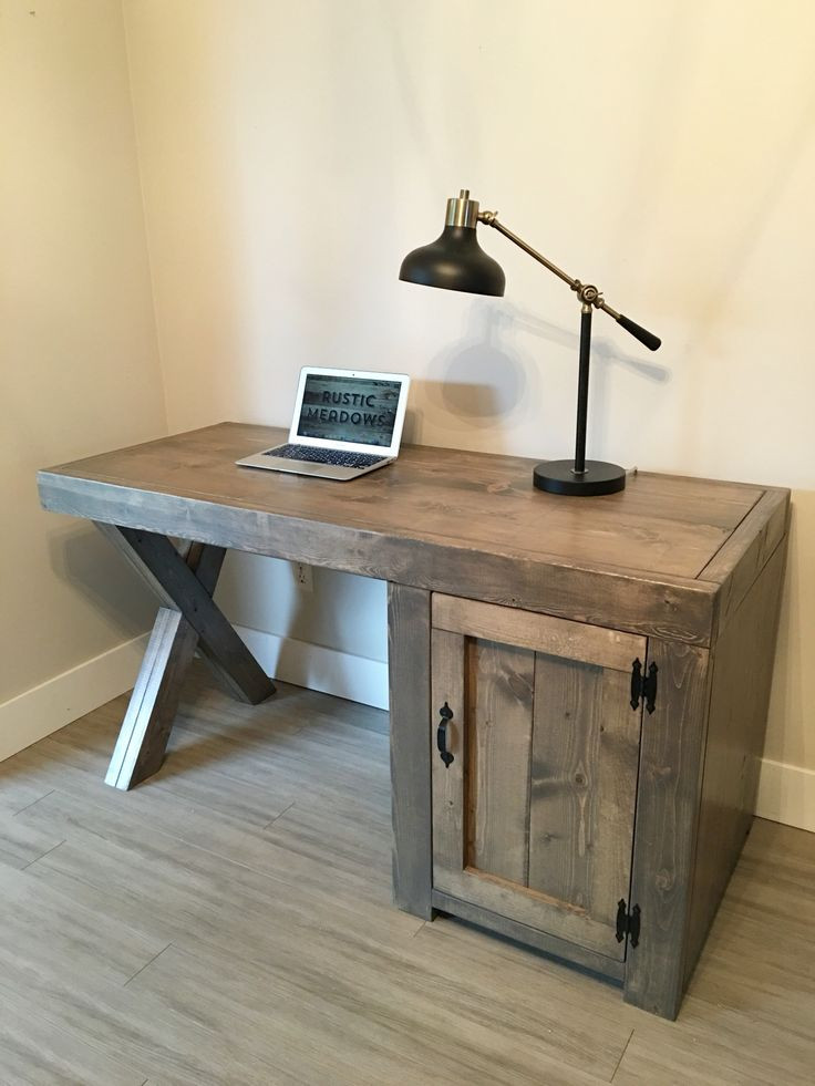 Best ideas about Wood Desk DIY . Save or Pin Best 25 Rustic desk ideas on Pinterest Now.