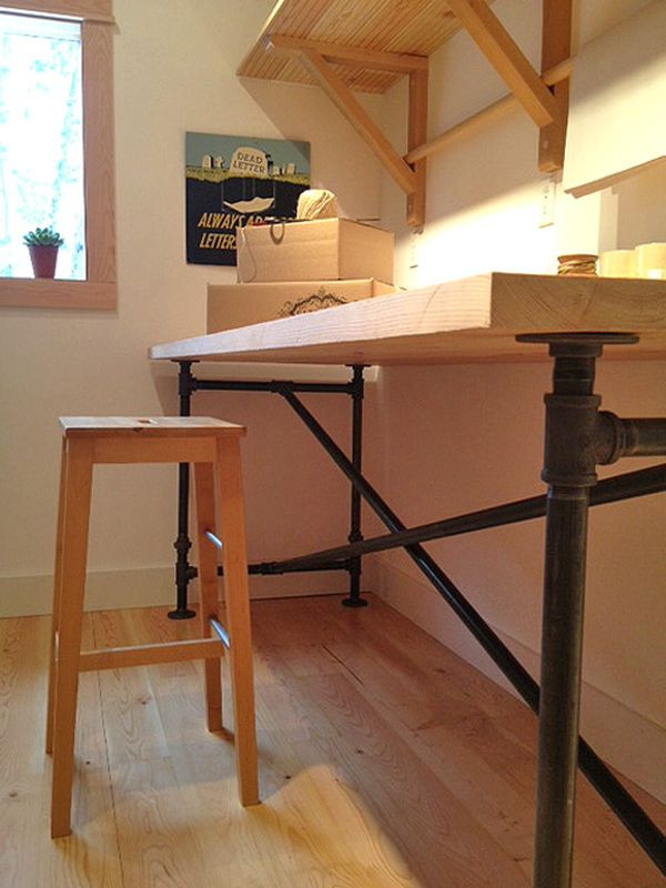 Best ideas about Wood Desk DIY . Save or Pin 20 DIY Desks That Really Work For Your Home fice Now.