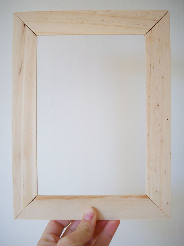 Best ideas about Wood Picture Frames DIY . Save or Pin 26 DIY Picture Frame Ideas Now.
