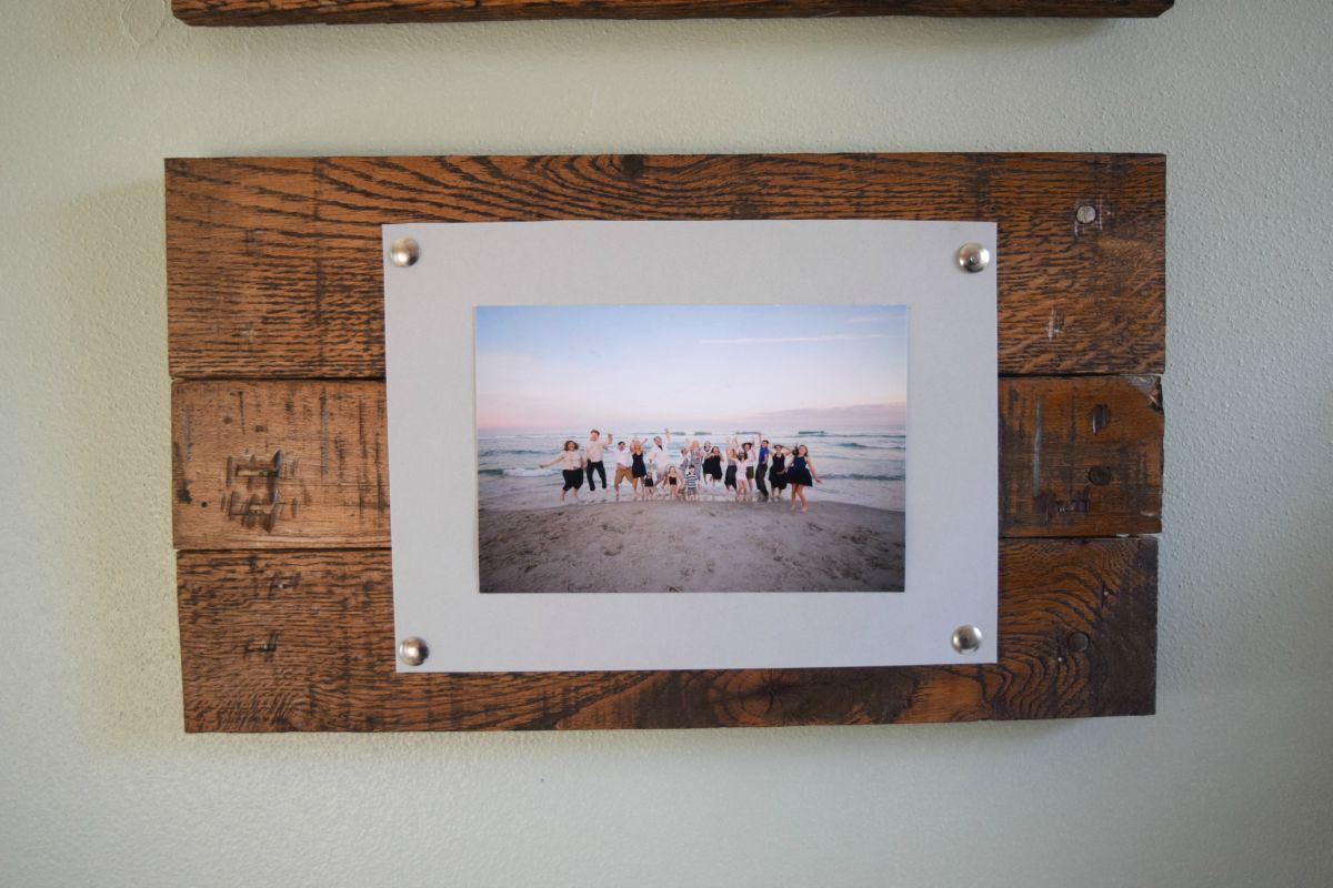 Best ideas about Wood Picture Frames DIY . Save or Pin DIY Rustic Scrap Wood Picture Frames Spotlight Favorite s Now.