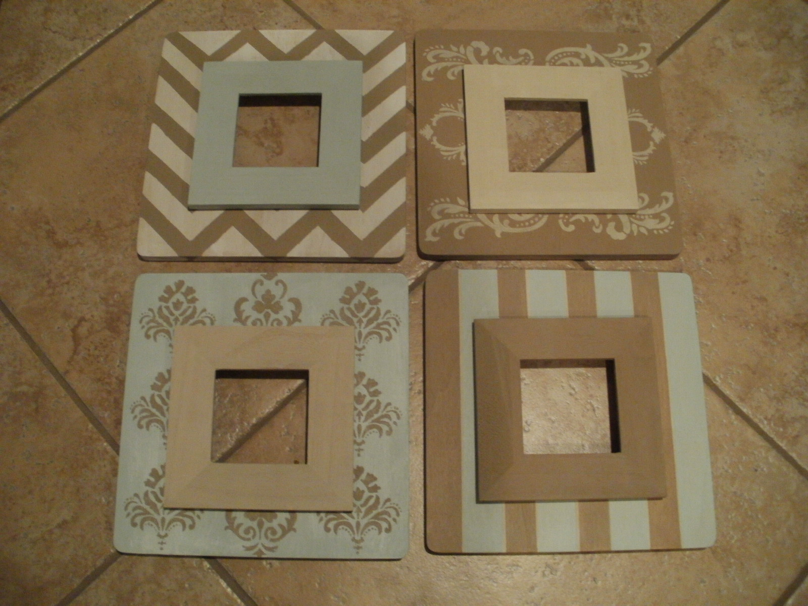 Best ideas about Wood Picture Frames DIY . Save or Pin DIY Wooden Frames Now.