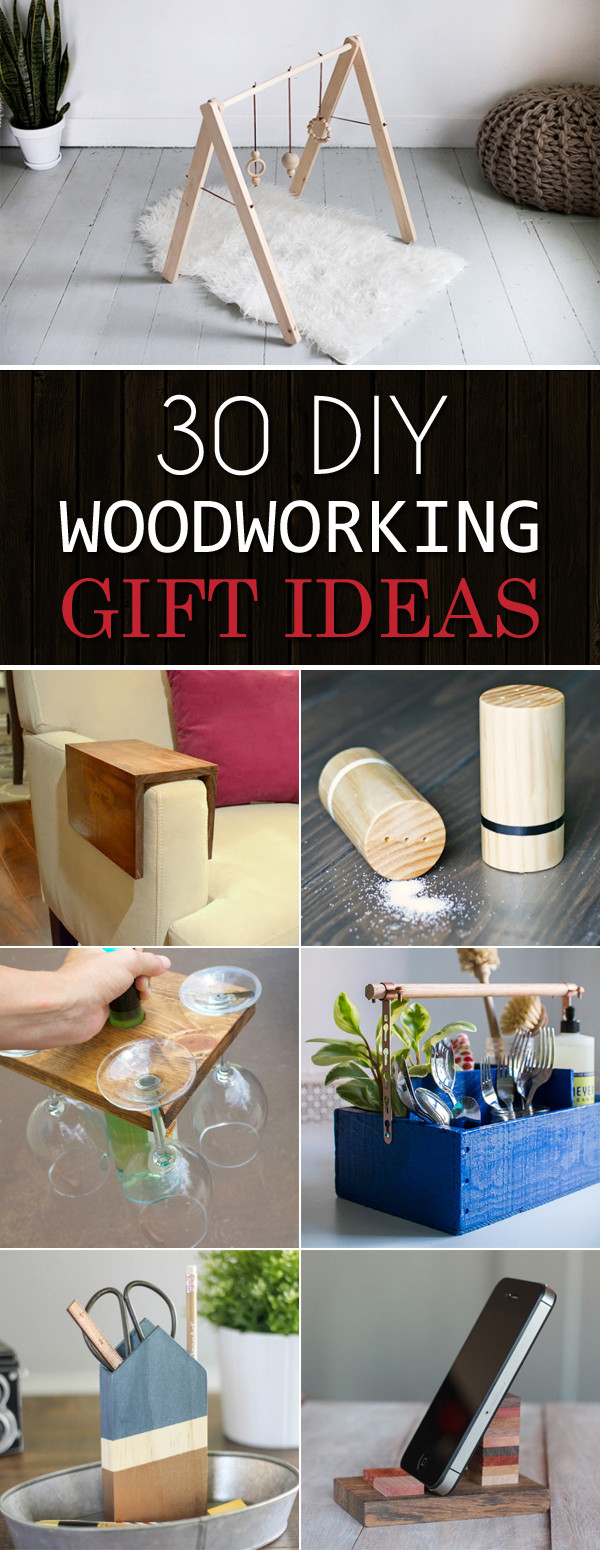 Best ideas about Wood Worker Gift Ideas . Save or Pin 30 Awesome DIY Woodworking Gift Ideas Now.
