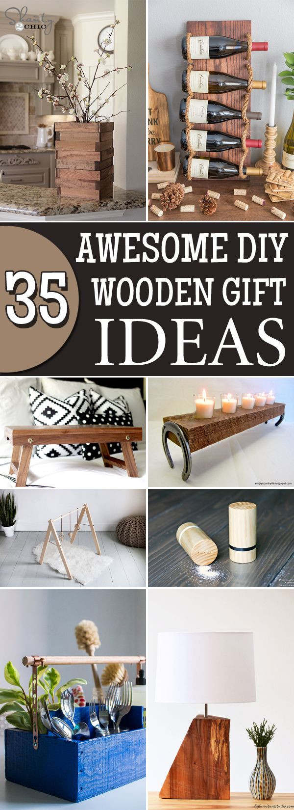 Best ideas about Wood Worker Gift Ideas . Save or Pin 35 Awesome DIY Wooden Gift Ideas That Everyone Will Love Now.