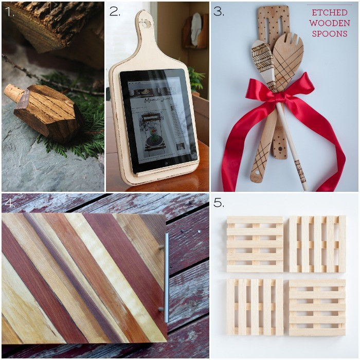 Best ideas about Wood Worker Gift Ideas . Save or Pin Over 30 Wooden Handmade Gift Ideas e Dog Woof Now.