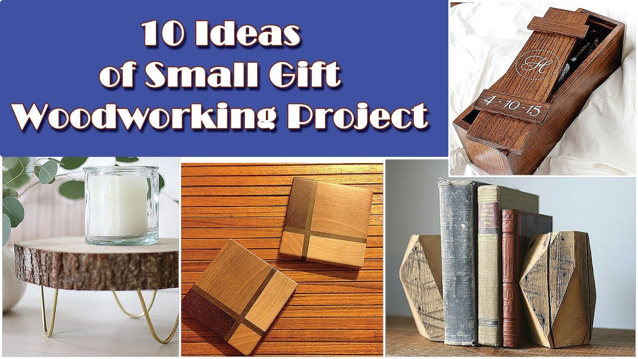 Best ideas about Wood Worker Gift Ideas . Save or Pin 10 DIY Small Woodworking Gift Idea Projects Now.