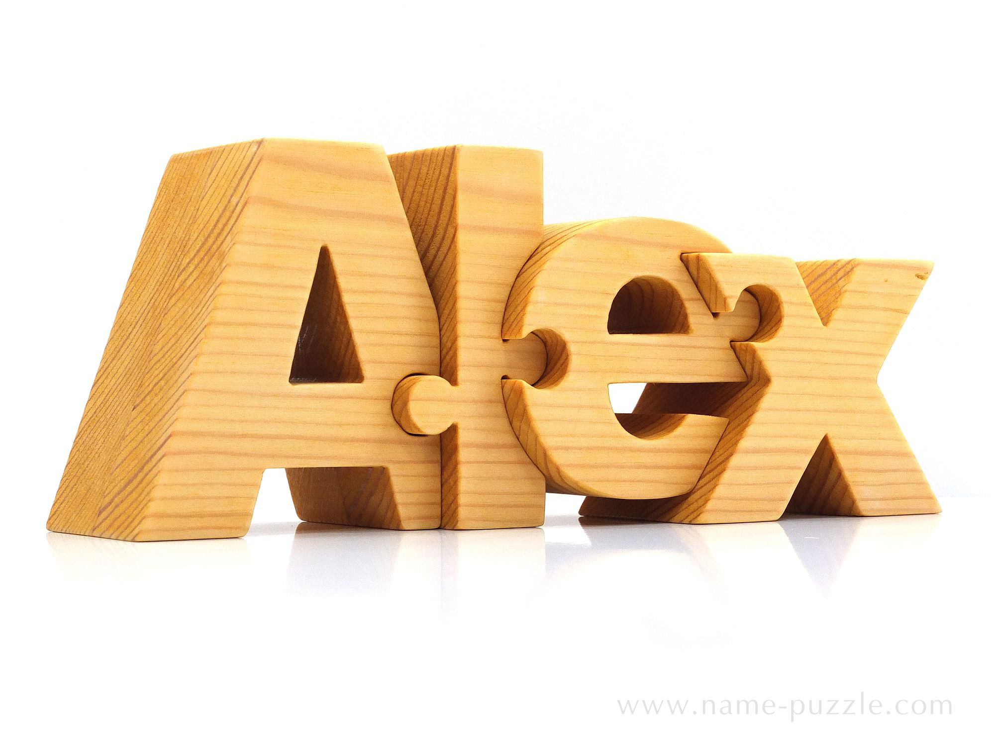 Best ideas about Wooden Gift Ideas . Save or Pin Wooden name puzzle unique t idea Now.